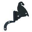 "111.35L-SN - Bird Flag Cabinet Hinge - Left Mount w/ Handforged Swanneck Post - 2 1/8"" Flag x 3 5/8"" Post"