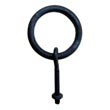 "302.NB.20 - Iron Cabinet/Drawer Ring Pull - 2"" Post & Nut"