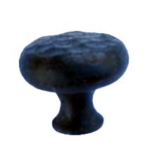 401.SM - Small Round Profile Turned & Forged Iron Knob